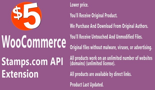 WooCommerce Stamps com API Extension