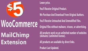 WooCommerce MailChimp Integration Extension