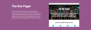 WooCommerce The One Pager 1.3.3 Theme Wordpress