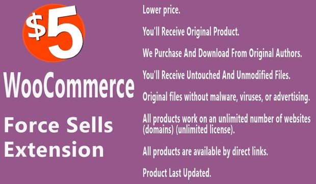 WooCommerce Force Sells Extension