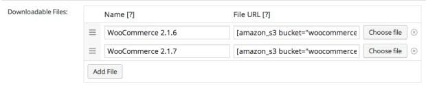 WooCommerce Amazon S3 Storage Extension