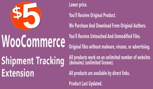 WooCommerce Shipment Tracking Extension