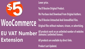 WooCommerce EU VAT Number Extension