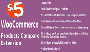 WooCommerce Products Compare Extension