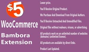 WooCommerce Bambora Payment Gateway Extension