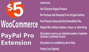 WooCommerce PayPal Pro Extension