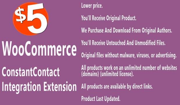 WooCommerce ConstantContact Integration Extension