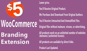 WooCommerce Branding Extension