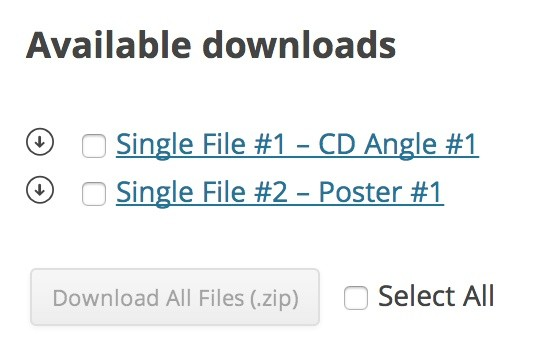 WooCommerce Bulk Download Extension
