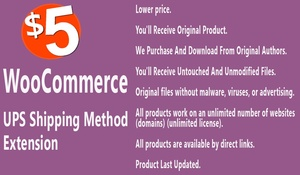 WooCommerce UPS Shipping Method Extension