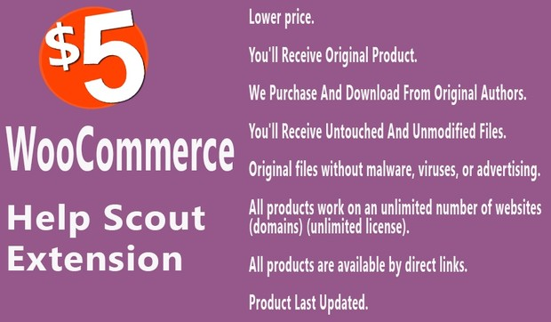 WooCommerce Help Scout Extension
