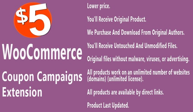 WooCommerce Coupon Campaigns Extension