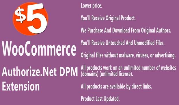 WooCommerce Authorize net DPM Payment Gateway Extension