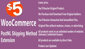 WooCommerce PostNL Shipping Method Extension