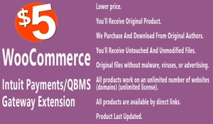 WooCommerce Intuit Payments QBMS Gateway Extension