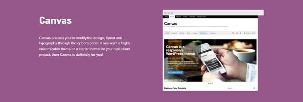 WooCommerce Canvas 5.11.7  Theme Wordpress