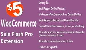 WooCommerce Sale Flash Pro Extension