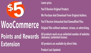 WooCommerce Points and Rewards Extension