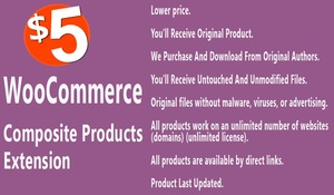 WooCommerce Composite Products Extension
