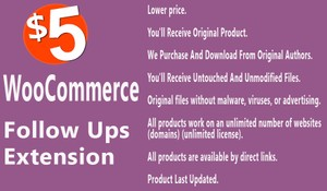 WooCommerce Follow Up Emails Extension