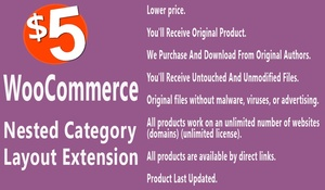 WooCommerce Nested Category Layout Extension