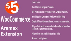 WooCommerce Aramex Extension
