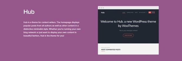 WooCommerce Hub Theme 1.2.19 Wordpress