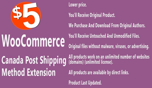WooCommerce Canada Post Shipping Extension