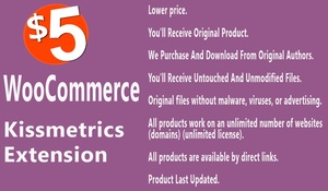 WooCommerce KissMetrics Extension