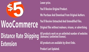 WooCommerce Distance Rate Shipping Extension