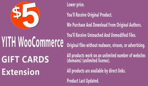 YITH WooCommerce Gift Cards Extension