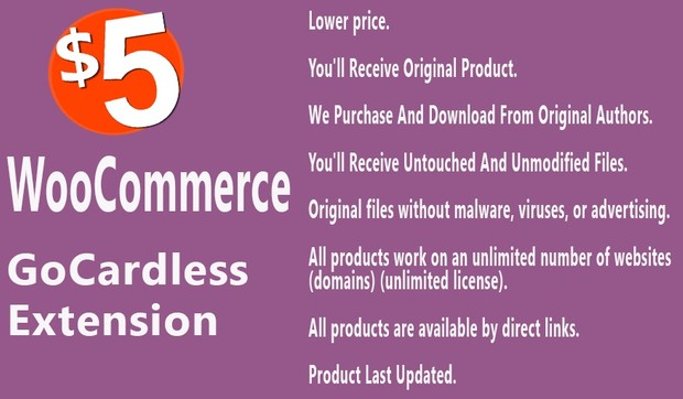 WooCommerce GoCardless Payment Gateway Extension