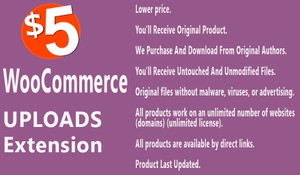YITH WooCommerce Uploads Extension