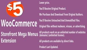 WooCommerce Storefront Mega Menus Extension
