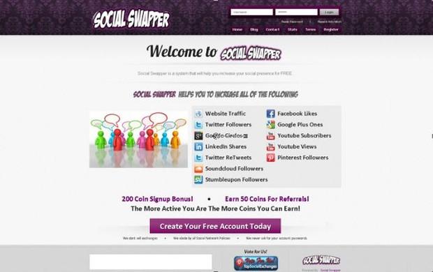 Social swapper