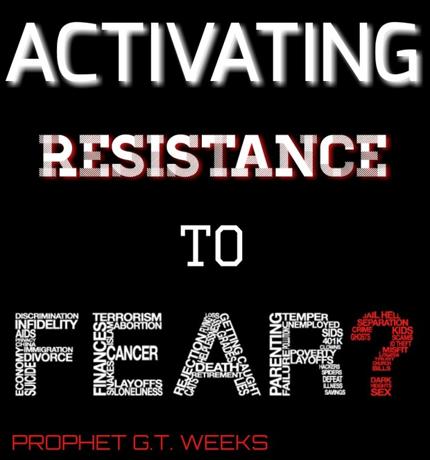 ACTIVATING RESISTANCE TO FEAR
