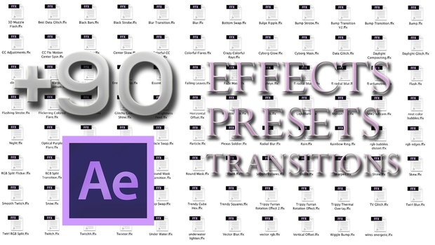 Presets Pack (+90 Effects & Transitions)