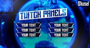Blue Glare - Twitch.TV Panels