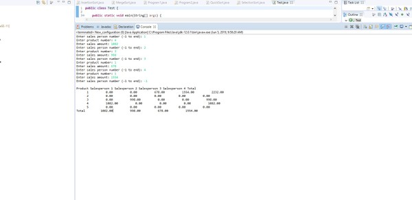 CS 570: Programming Foundations Programming Assignment #6 Solution