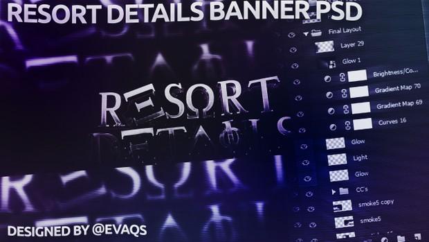 Resort Details PSD