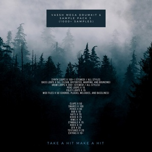 Vassh Mega Drumkit & Sample Pack 3 (1000+ Samples)
