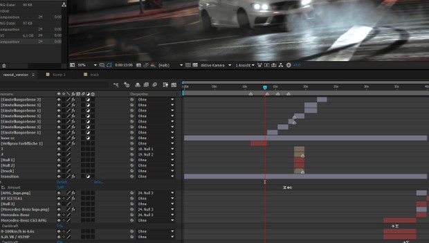 C63: Clips, Project Files, sfx