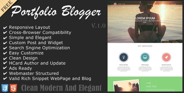 Grapvista - Creative One Page Blogger Theme