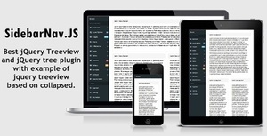 Bootstrap Responsive Sidebar Nav