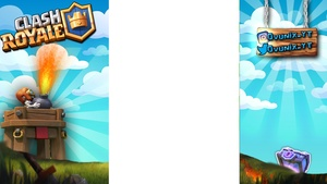 Clash Royale Overlay Free Facecam Included Ovunix Youtube Art Shop