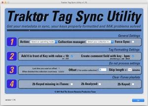 Traktor Tag Sync Utility for MacOS.
