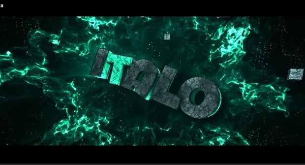Intro 3D TEXT [BR]