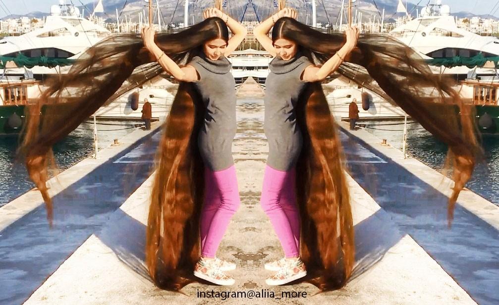 Incredible length of my hair