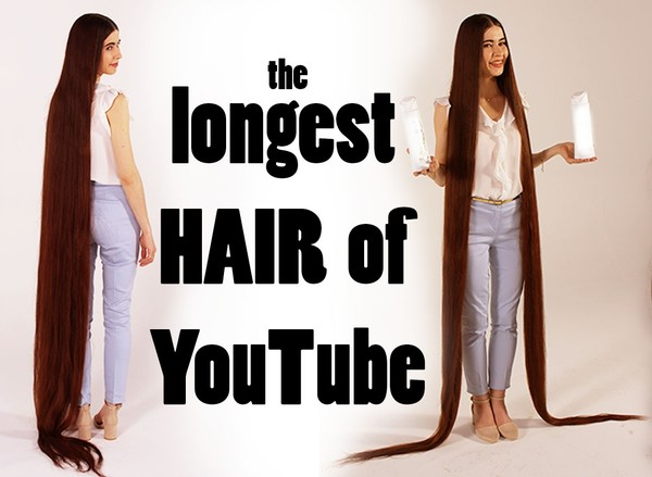 Girl with the longest hair of Youtube - Rapunzel shooting