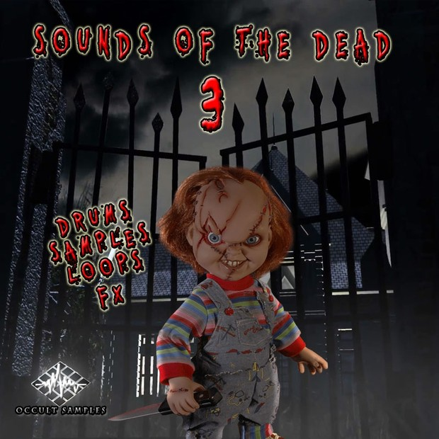 Sounds Of The Dead Vol  3 (sample pack)